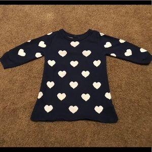 GAP sweater dress, 6-12 months